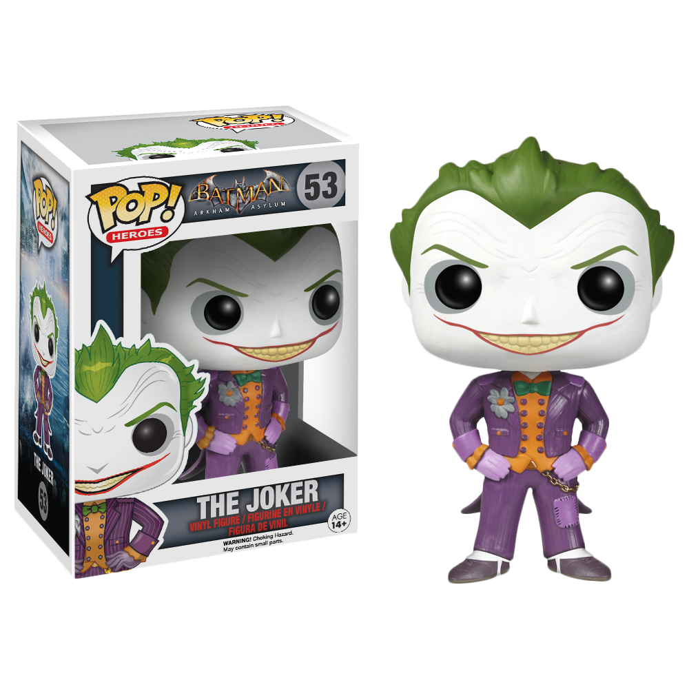 Funko Pop: Joker (Arkham Asylum)