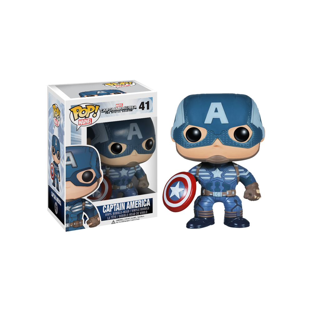 Funko Pop: Captain America (Winter Soldier)