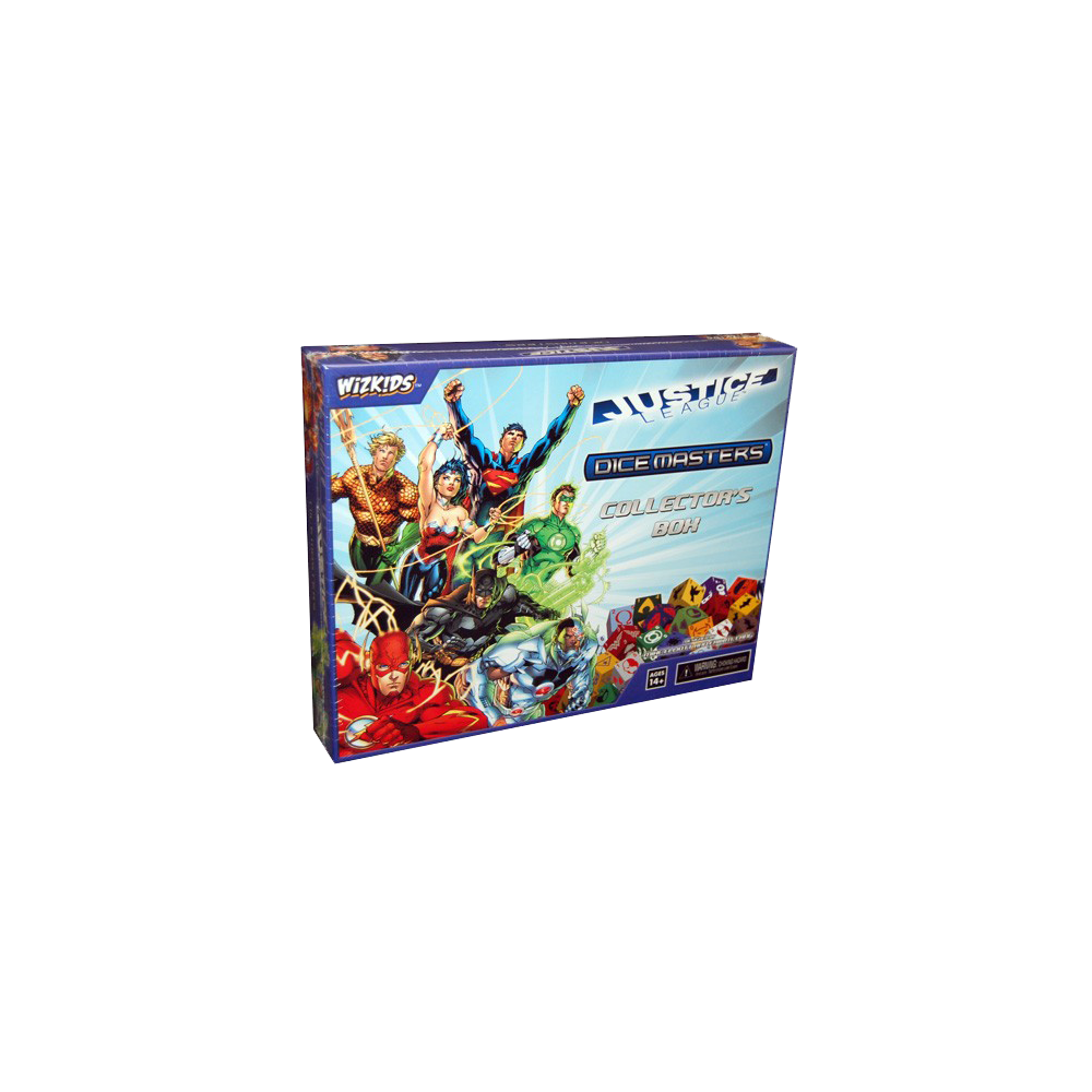 DC Comics Dice Masters: Justice League - Collector's Box