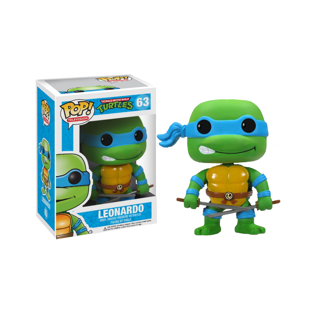 Funko Pop: Teenage Mutant Ninja Turtles - Leonardo