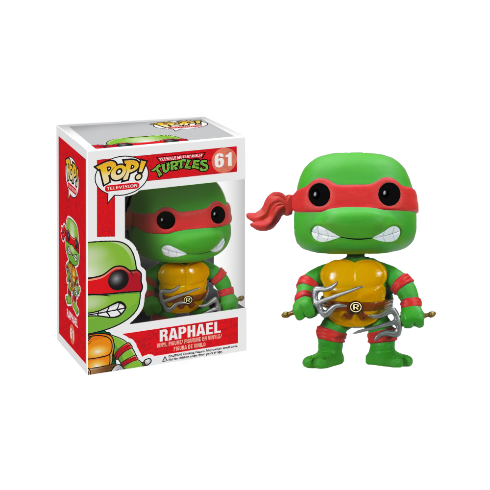 Funko Pop: Teenage Mutant Ninja Turtles - Raphael