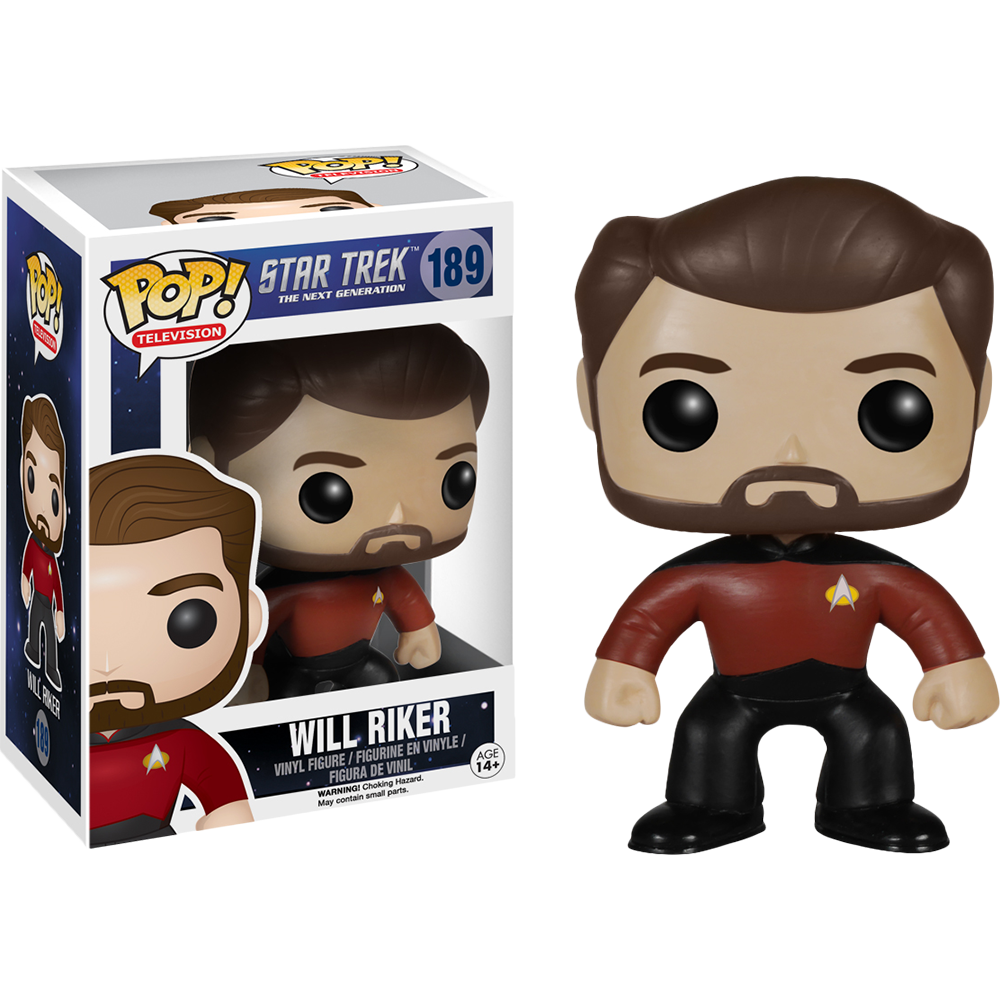 Funko Pop: Star Trek - Will Riker