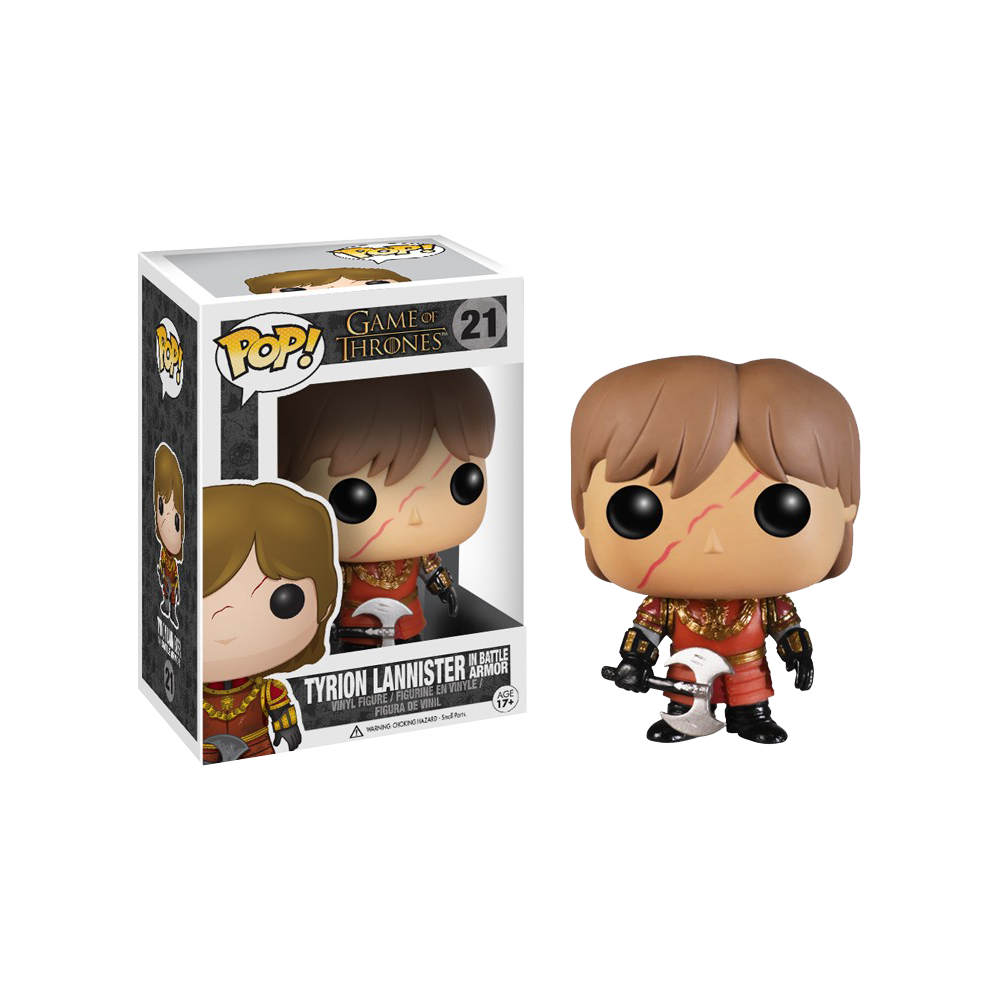 Funko Pop: Game of Thrones - Tyrion Lannister in Battle Armor