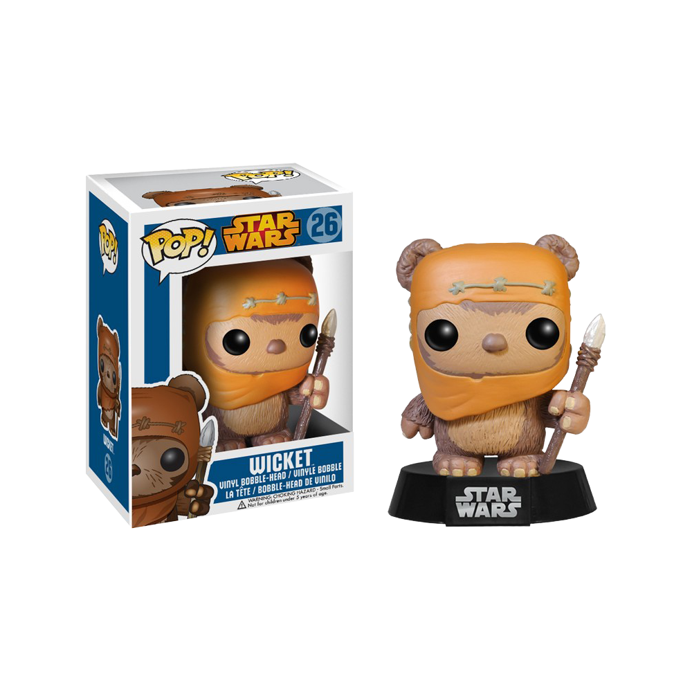 Funko Pop: Star Wars - Wicket