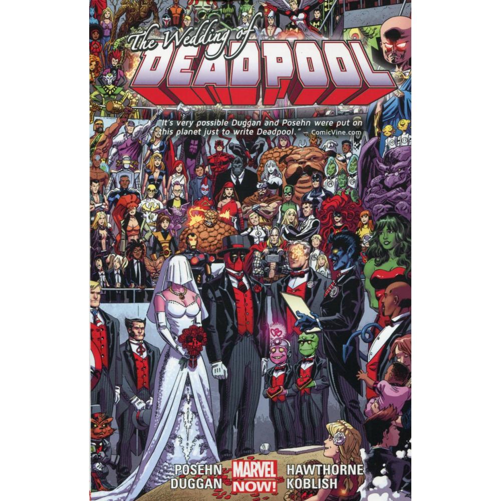 Deadpool TP Vol 5 Wedding