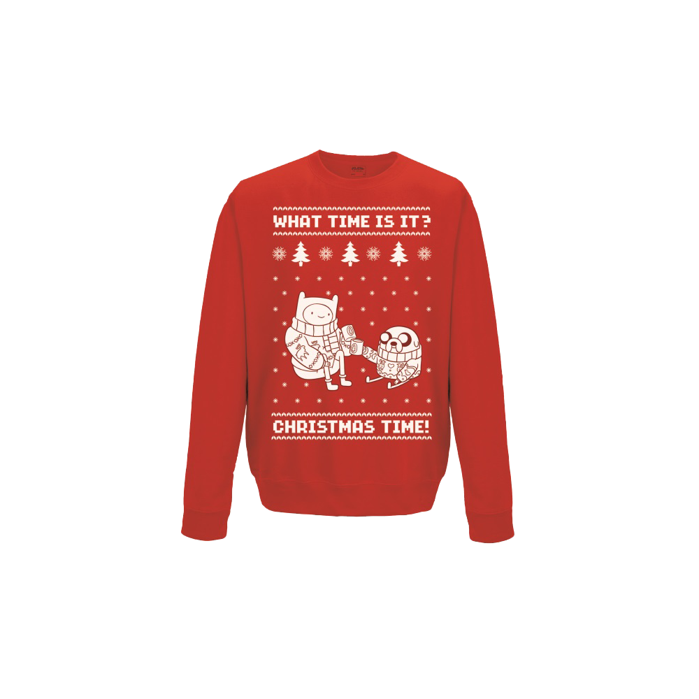 Adventure Time - Christmas Time Sweatshirt