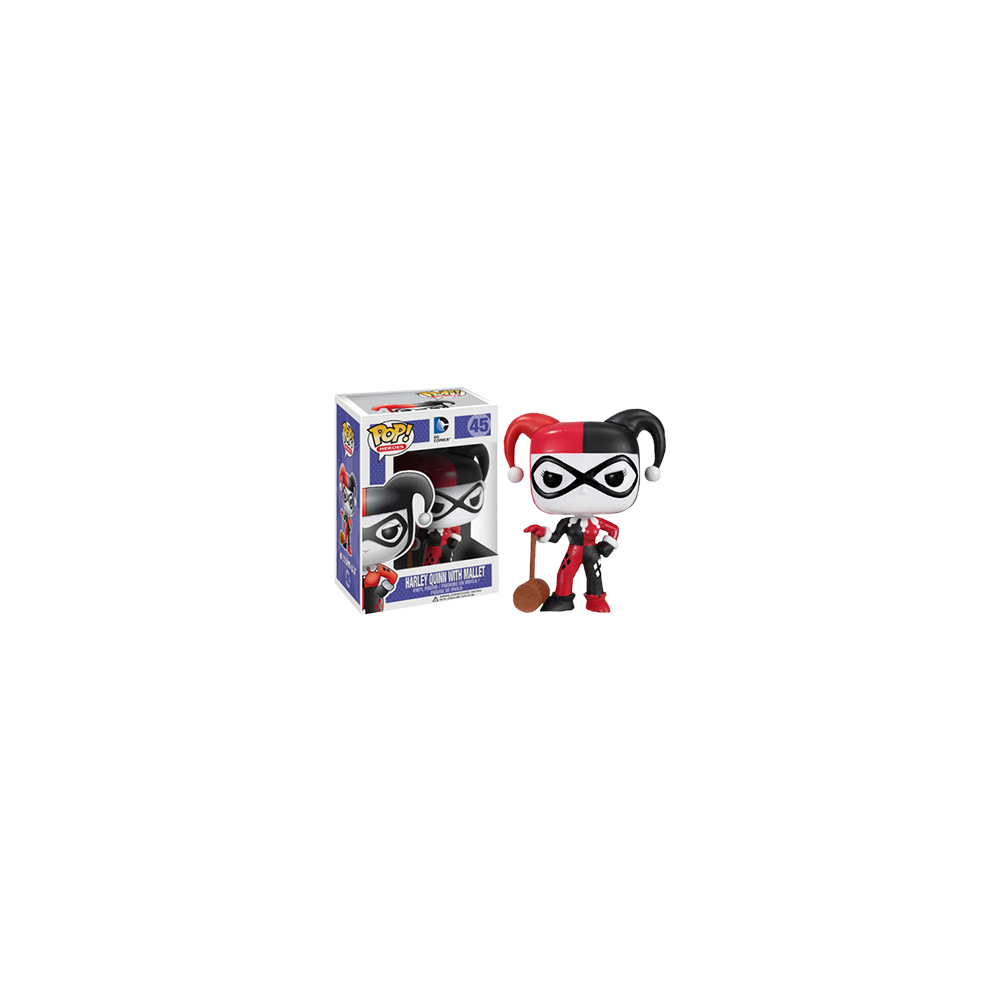 Funko Pop: Batman - Harley Quinn With Mallet