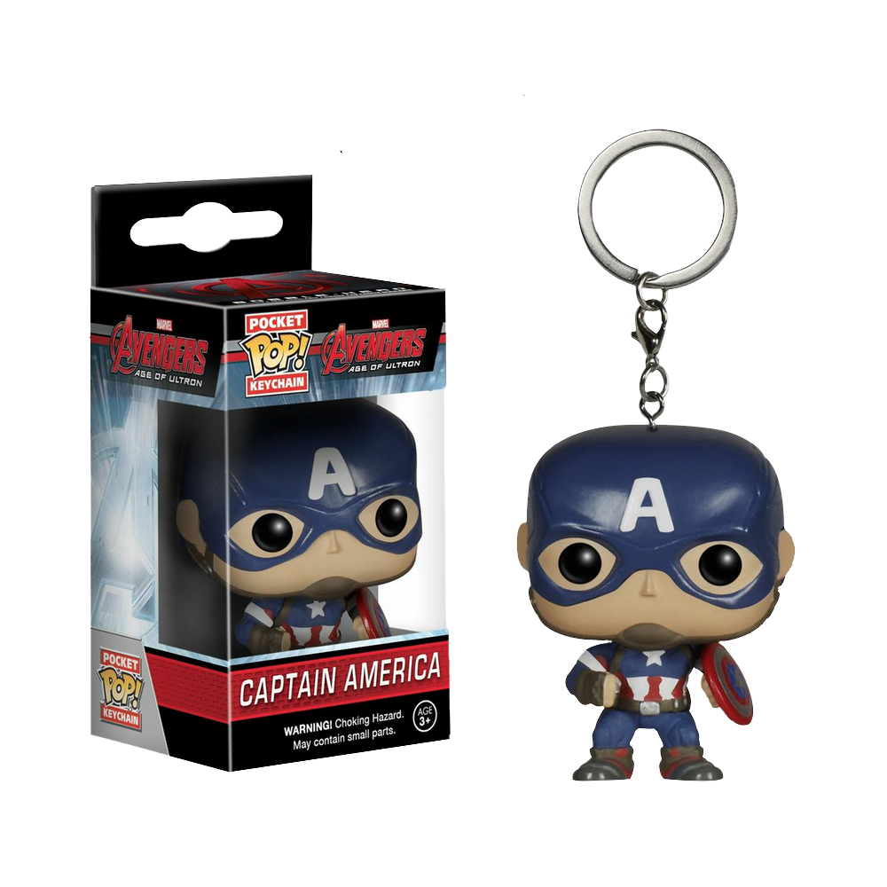Funko Pop: Breloc - Captain America
