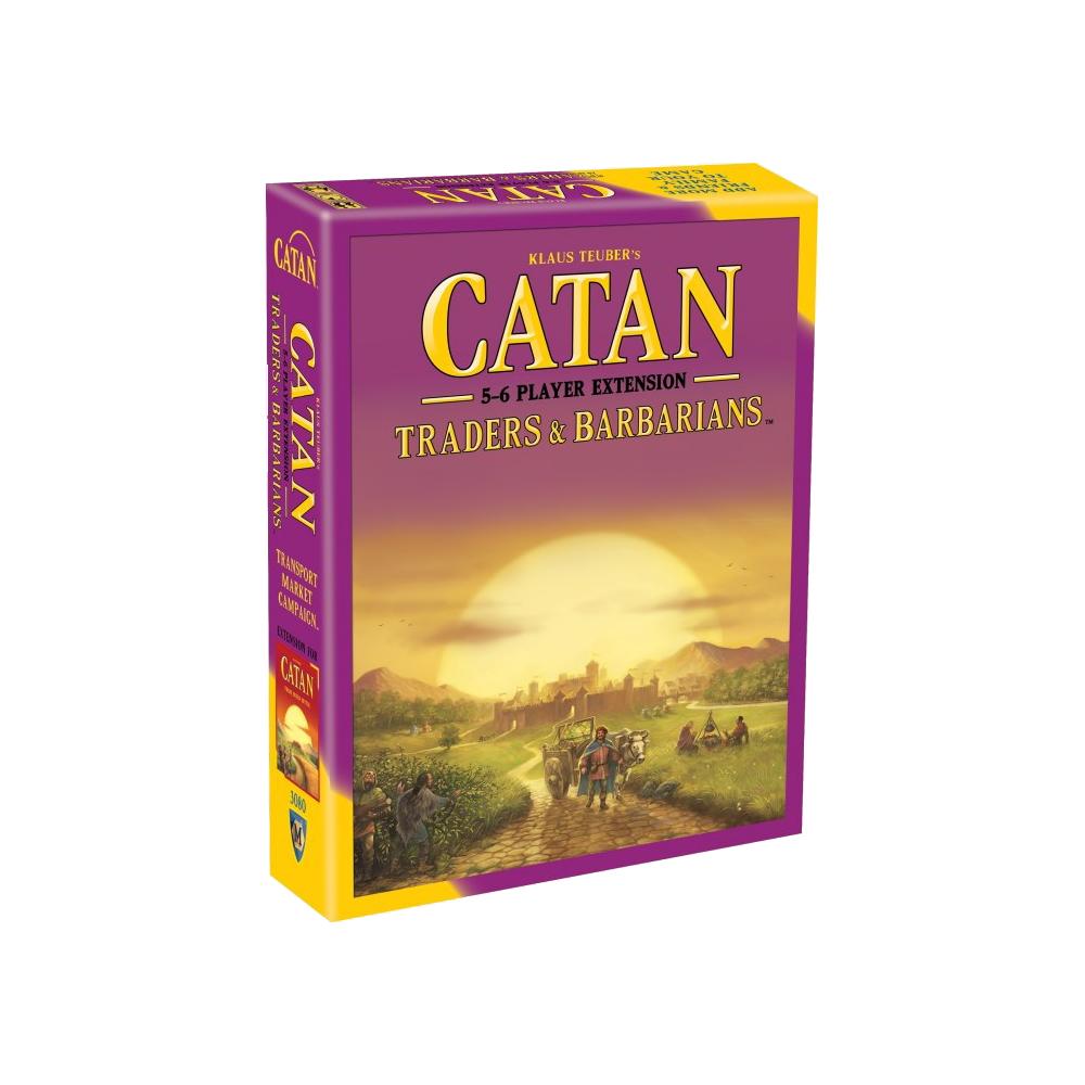 Catan: Negustori & Barbari – Extensia pentru 5-6 jucători