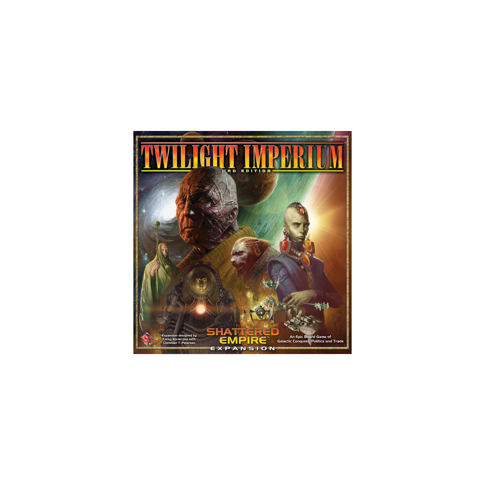 Twilight Imperium (Third Edition): Shattered Empire