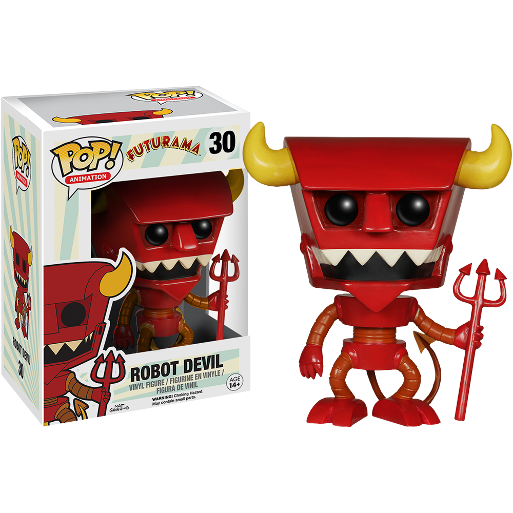 Funko Pop: Futurama - Beezlebot the Robot Devil