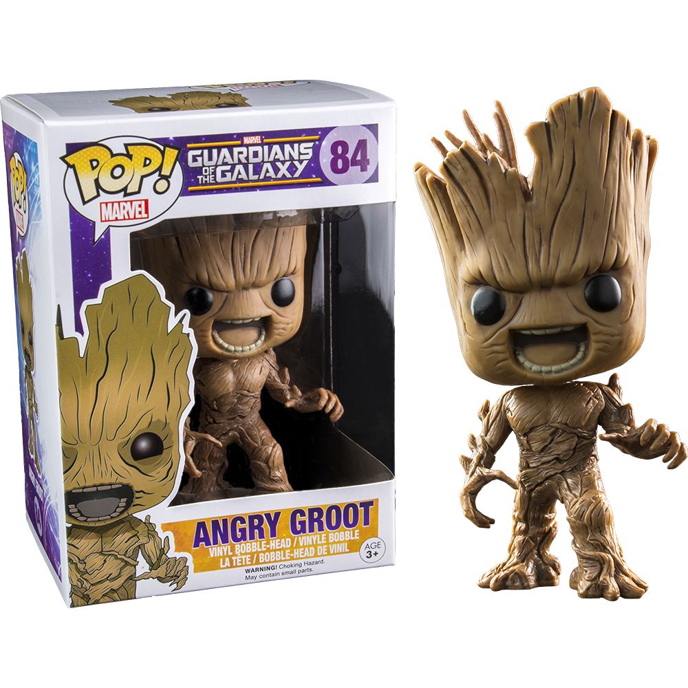 Funko Pop: Guardians of the Galaxy - Angry Groot