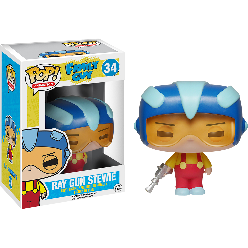 Funko Pop: Family Guy - Ray Gun Stewie