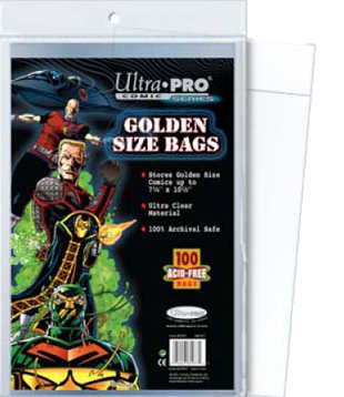 Ultra PRO: Comic Bags - Golden Size