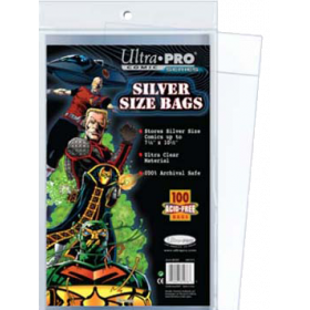 Ultra PRO: Comic Bags - Silver Size