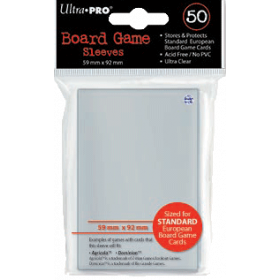Ultra PRO Sleeves: Standard European (50)
