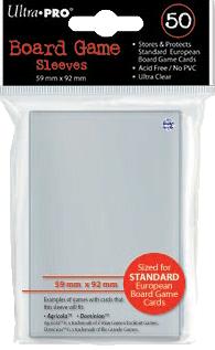 Ultra PRO Sleeves: Standard European (50)
