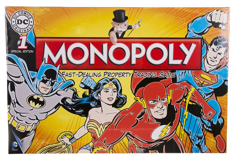 Monopoly DC Comics Retro Board Game