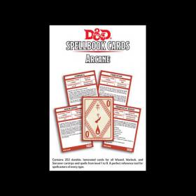 D&D: Arcane Spell Deck