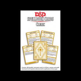 D&D: Cleric Spell Deck
