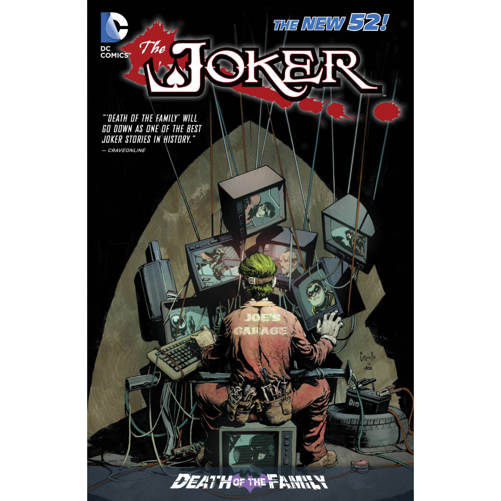 The Joker Death of the Family TP