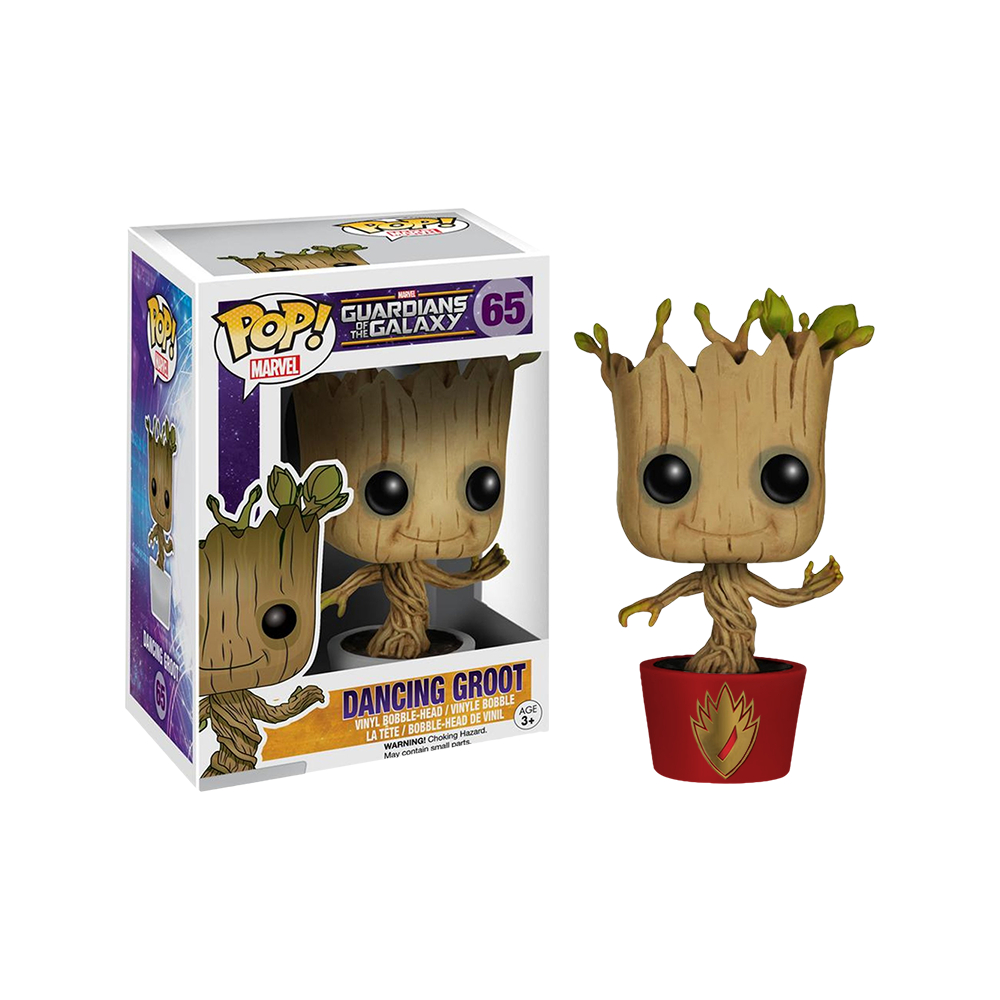Funko Pop: Guardians of the Galaxy - Dancing Groot (Ravagers Edition)