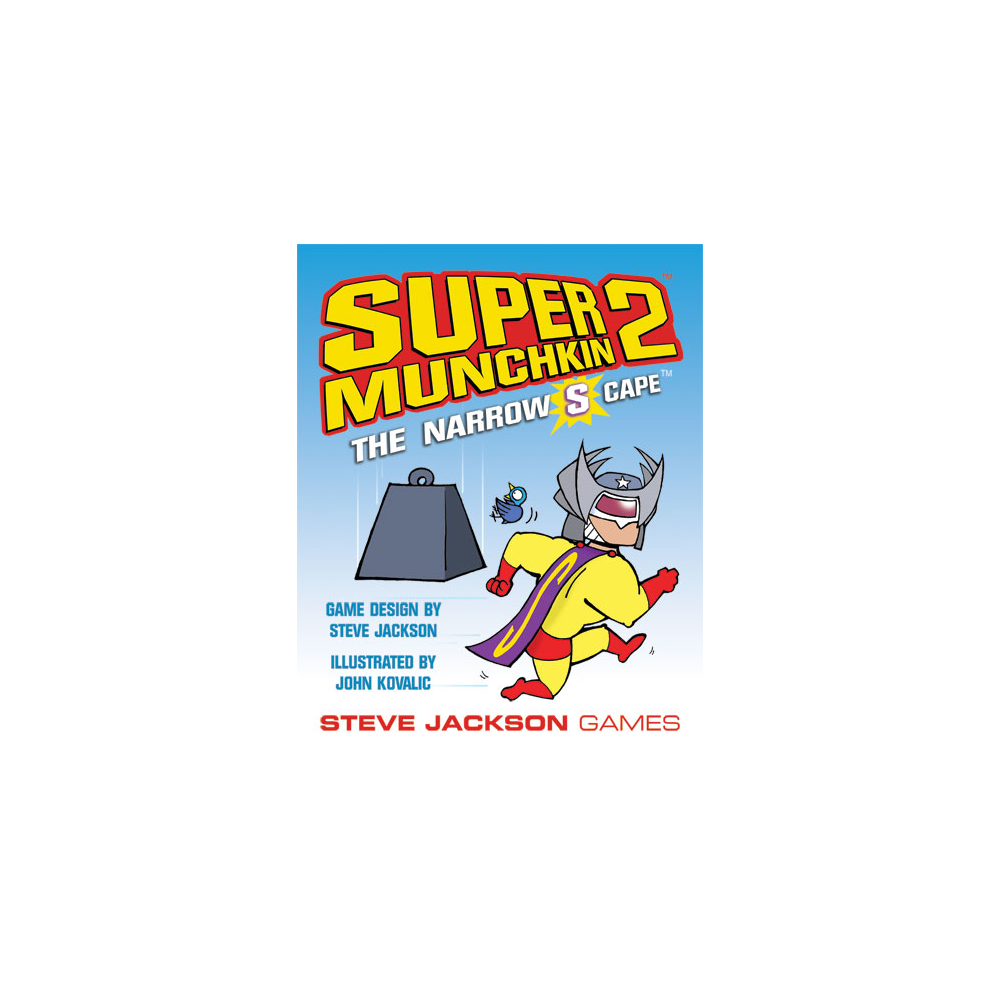 Super Munchkin 2: The Narrow S Cape