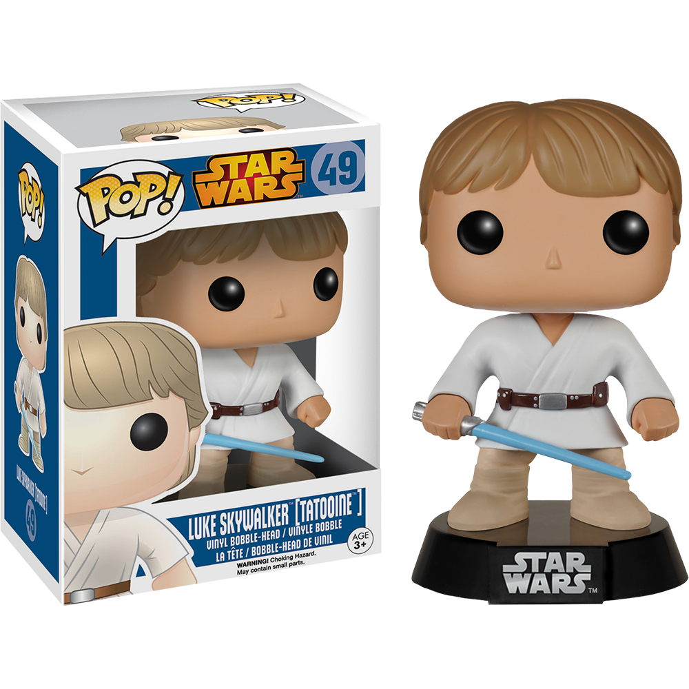 Funko Pop: Star Wars - Luke Skywalker (Tatooine)