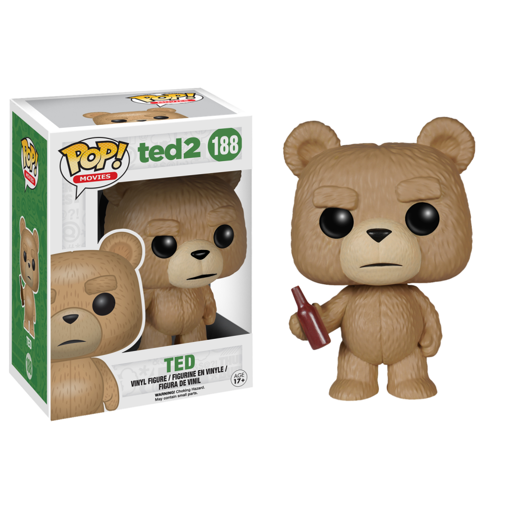 Funko Pop: Ted 2 - Ted with Beer Bottle