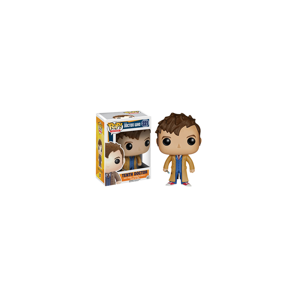 Funko Pop: Doctor Who - Tenth Doctor