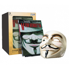 V for Vendetta Book & Mask Set - Trade Paper