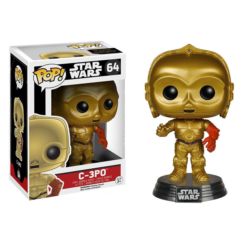 Funko Pop: Star Wars - C3PO (Force Awakens)
