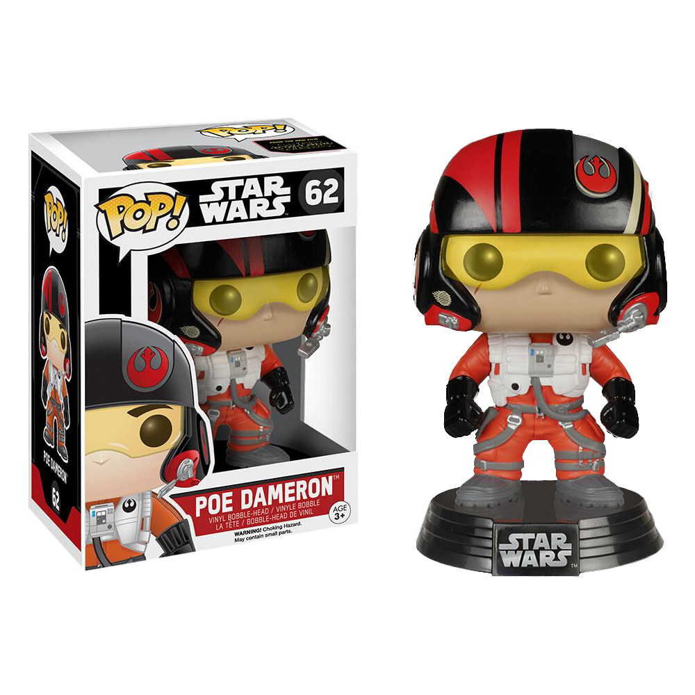 Funko Pop: Star Wars - Poe Dameron
