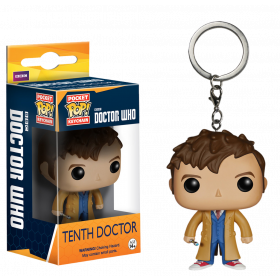Funko Pop: Breloc - 10th Doctor