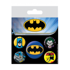 Pin Badges - Batman