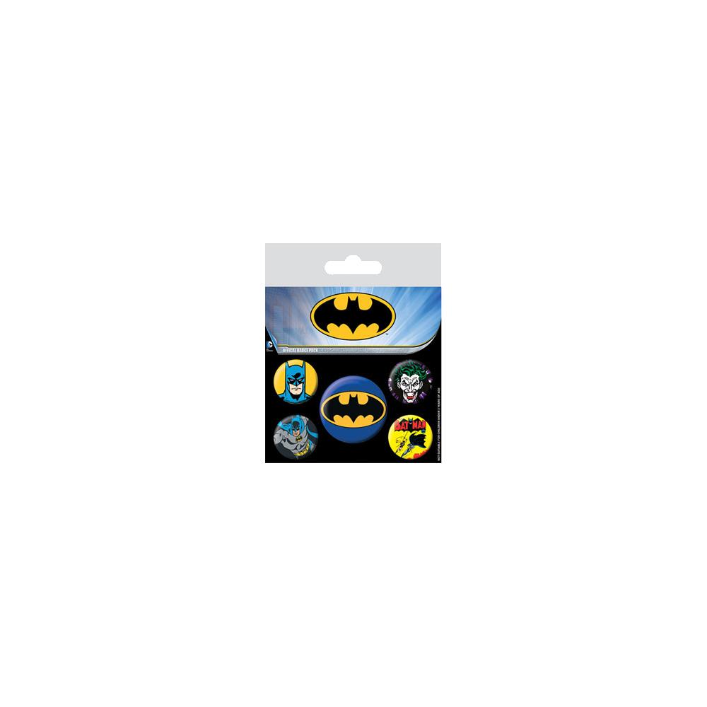 Pin Badges - Batman