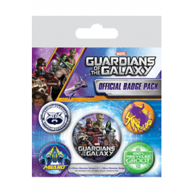 Pin Badges - Guardians of the Galaxy