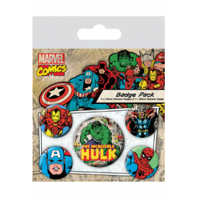 Pin Badges - Hulk