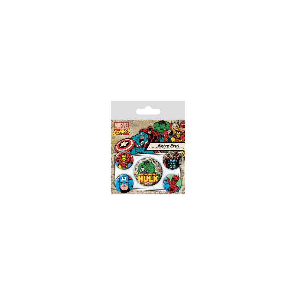 Pin Badges - Hulk