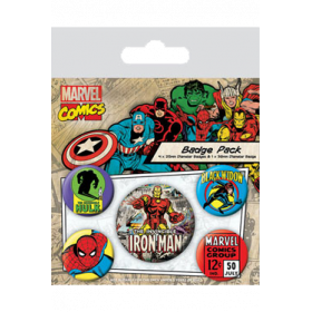 Pin Badges - Iron Man
