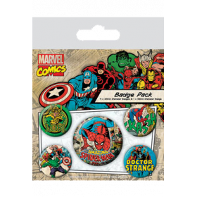 Pin Badges - Spider-Man
