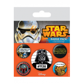 Pin Badges - Star Wars (Cult)