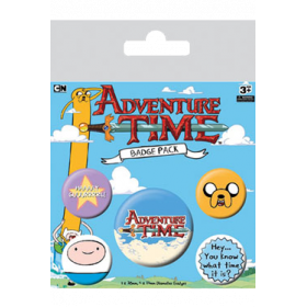 Pin Badges - Adventure Time