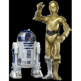 C-3PO & R2-D2 - 18 cm set statues
