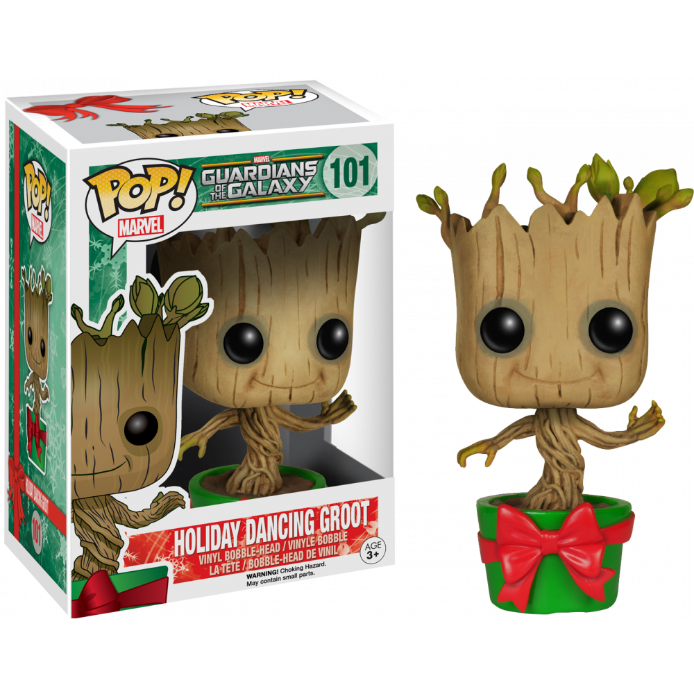 Funko Pop: Guardians of the Galaxy - Dancing Groot (Holiday)