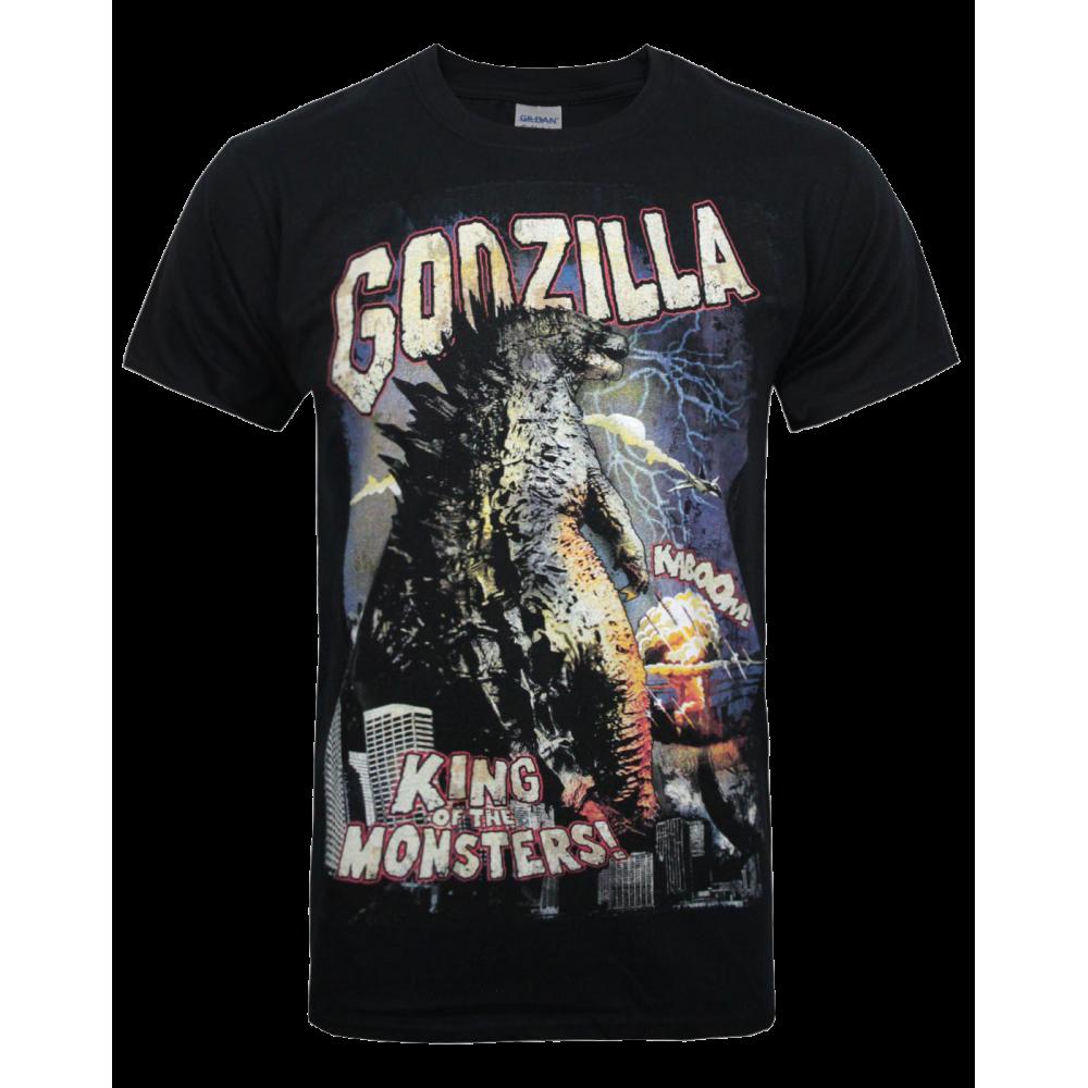 Godzilla Retro Poster