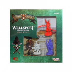 Rum & Bones: Wellsport Brotherhood Heroes Set 1