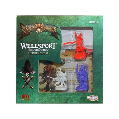 Rum & Bones: Wellsport Brotherhood Heroes Set 1