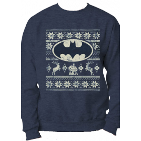 Batman - Fair Isle Logo Sweatshirt