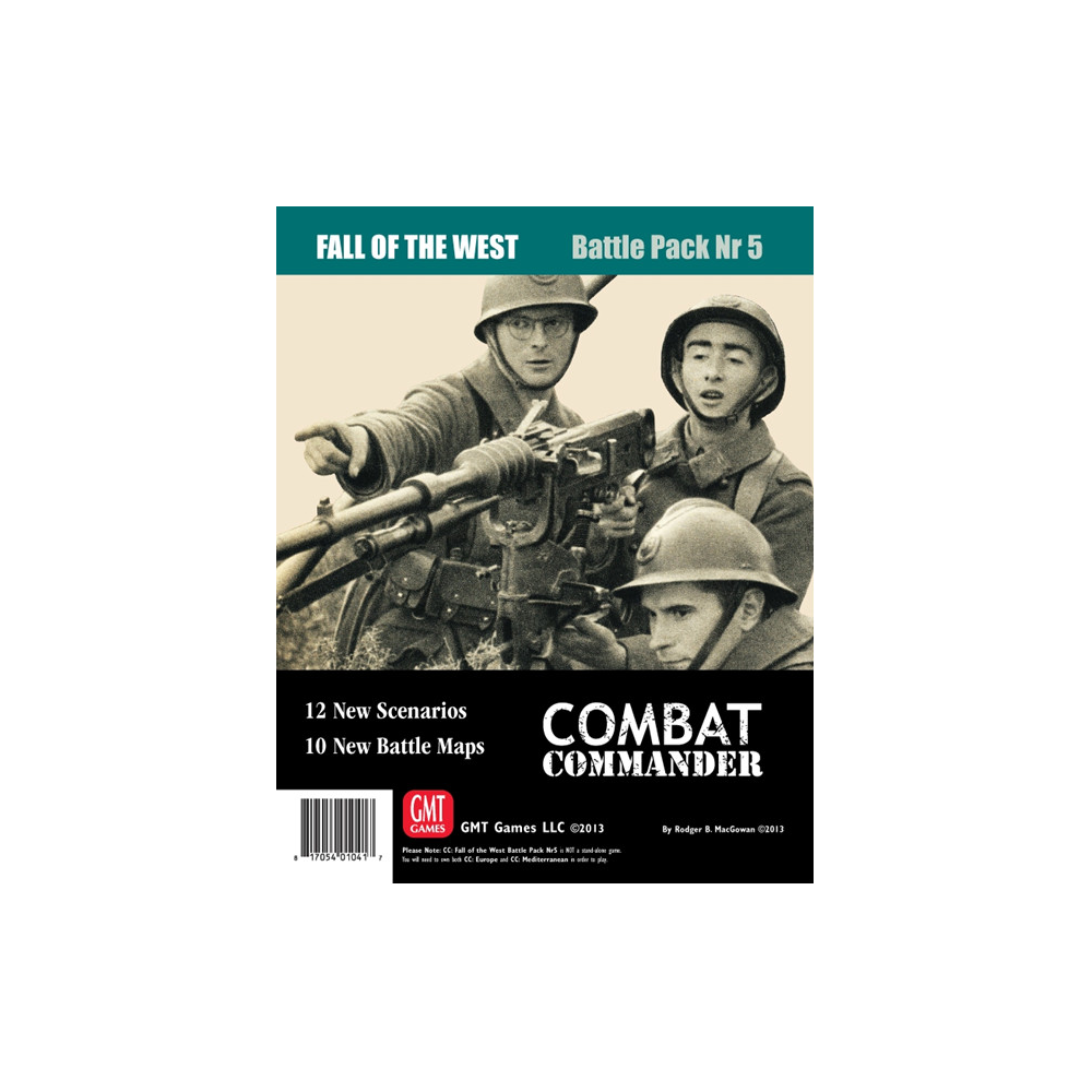 Combat Commander: Battle Pack #5 – The Fall of the West